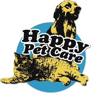 Happy Pet Care Logo, Click to Go Home
