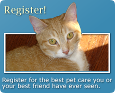 Register for the best pet care you or best friend have ever seen.
